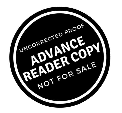 Advance Reader Copy